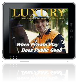Acceess Luxury Magazine Digital Editions Using Any Device